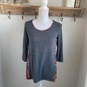 Stitch Fix Kaileigh Lorna Woven Back Detail Top
